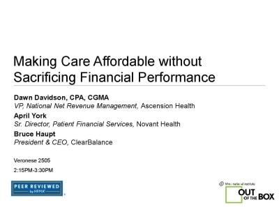 Making-Health-Care-Affordable-HFMA-ANI-2016